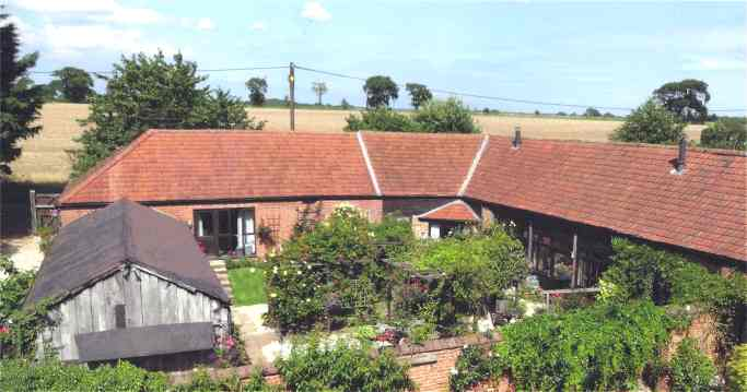 Church Farm Barns Wickmere Self Catering Holiday